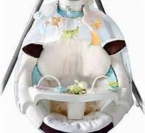 Fisher Price My Little Lamb Cradle Swing - $50