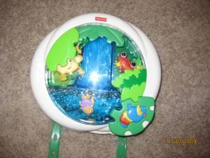 Fisher Price Ocean Wonders Aquarium Crib Toy Whitehall