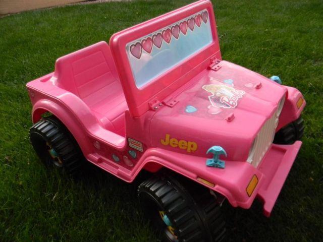 Barbie Battery Car