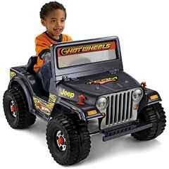 Fisher-Price Power Wheels Hot Wheels Jeep - $50
