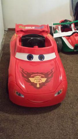 Fisher Price Power Wheels Lightning Mcqueen Car For Sale