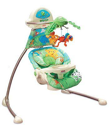 Fisher Price Rainforest Open-Top Cradle Swing - NEW IN BOX - $75 Lafayette, CO