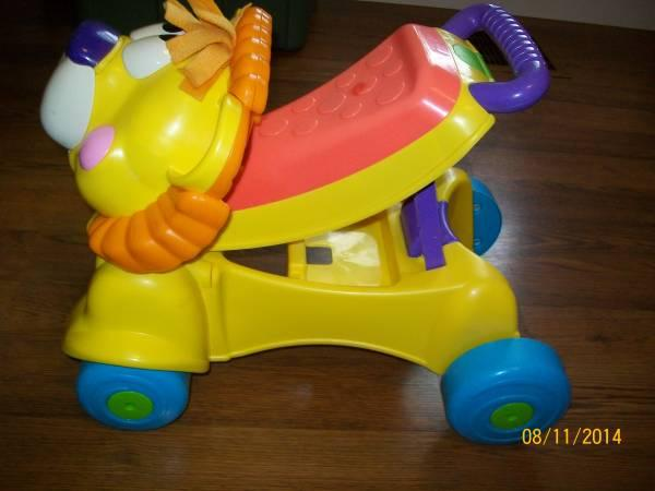 fisher price lion walker instructions