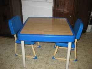 Fisher Price Table And Chairs For Kids Lisle For Sale
