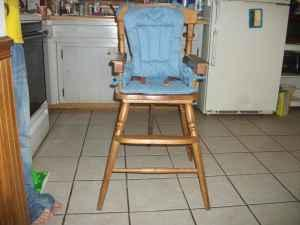 Fisher Price wooden high chair wilmington for Sale in