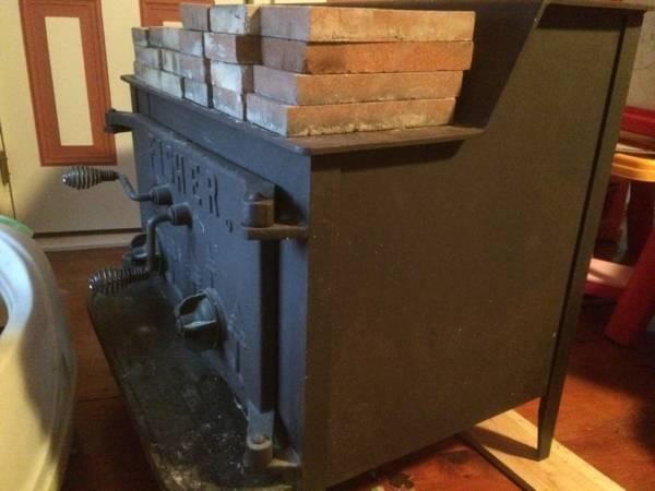 Fisher wood stove - $500