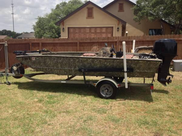 Fishing and duck boat 2004 fisher 16 39 w 40hp mercury for Fishing boats for sale in texas