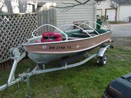 Fishing Boat 12 Ft Quot Starcraft Quot Trailer Westerville