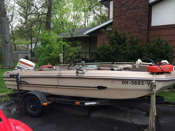 Fishing boat for sale in marion ohio classified for Fishing boats for sale in ohio