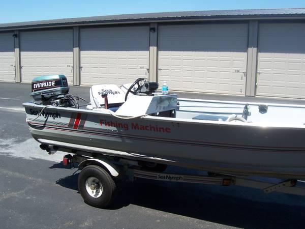 Fishing Boat 1989 Sea Nymph