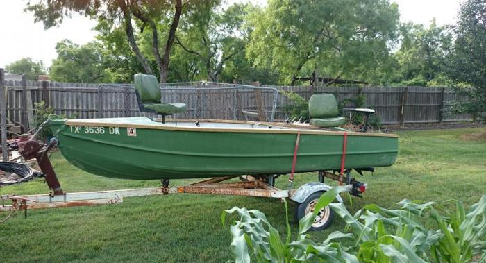 Fishing boat for sale in adkins texas classified for Fishing boats for sale in texas