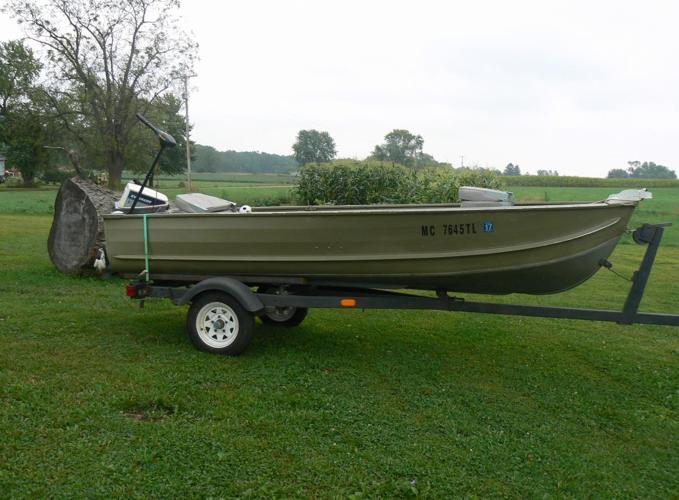 Fishing boat for sale in allegan michigan classified for Fishing boats for sale in michigan