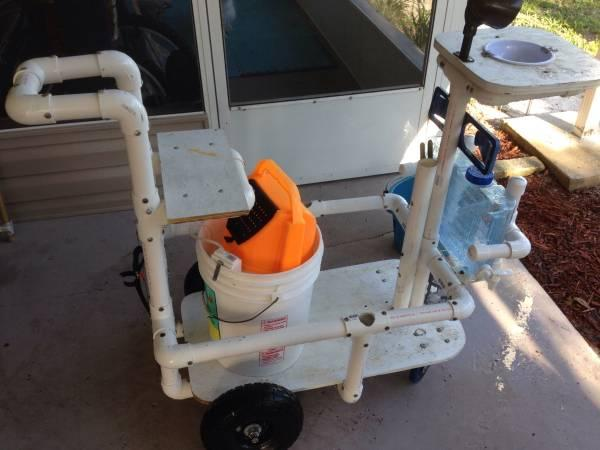 Fishing cart for sale in daytona beach florida for Fishing carts for sale