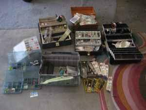 Fishing Gear, Tackle Boxes, Fishing Reels - $150 Johnstown