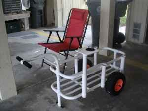 Fishing cart carolina beach for sale in wilmington for Pvc fishing cart