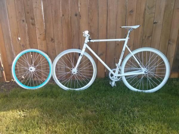 Fixie Fixed Gear Over In Parts For Sale In Eugene Oregon