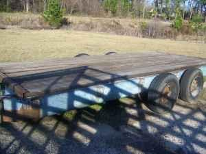 Flat Bed Trailer - $700