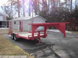 Flatbed Gooseneck Trailer - $2000 (newport news)