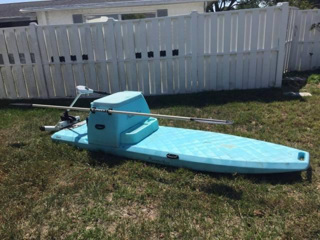 Flats fishing boat w 45 poud thrust trolling motor for for Boat motors for sale in florida