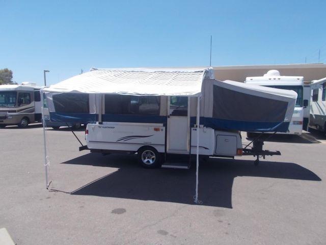 Fleetwood Cheyenne 21 5 Ft Pop Up Tent Camper Traler For