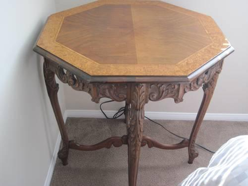 Flemish Carved Walnut Table