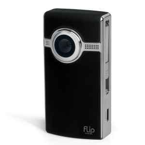 Flip UltraHD Video Camera - Black, 8 GB, 2 Hours of HD