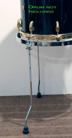 Floor tom suspension system mount cradle rims gauger 14 for 14 inch floor tom