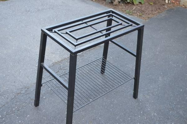 Flower stand or tv stand or fish tank stand for 20 for 15 gallon fish tank stand