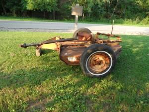 Fmc 5ft Pull Type Bush Hog Chillicothe For Sale In