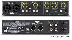 Focusrite Saffire 6 USB - $160 eugene