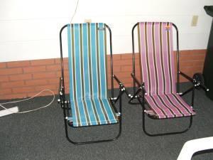 Folding Beach Chairs   $10 (N Lakeland)