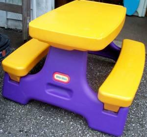Folding Picnic Table Little Tikes Anderson 45230 For