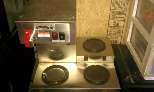 Food Warmer, BUNN Coffee Maker, and Standard Coffee Maker for Sale in Ellijay, Georgia ...
