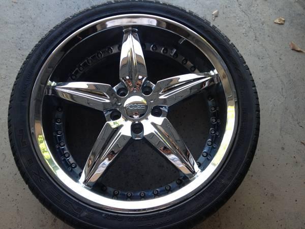 Foose Speedster Wheels With Nexen Tires Lug Nuts And Locks Americanlisted