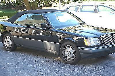For sale 1995 mercedes benz e320 cabriolet black black for 1995 mercedes benz e320 convertible for sale