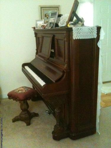 For Sale Antique Upright Grand Piano For Sale In Bybee