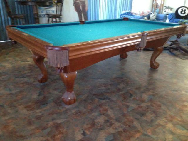For sale brunswick contender 8 39 slate pool table for sale for 1 slate pool table