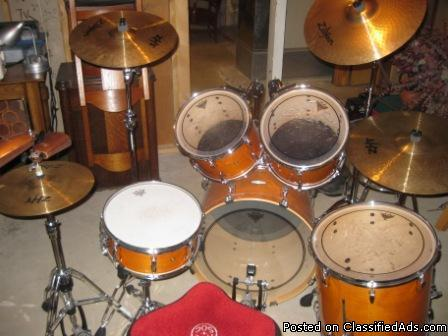Pearl Drum Sets For Sale : for sale like new complete pearl drum set for sale in crandalls lodge iowa classified ~ Russianpoet.info Haus und Dekorationen