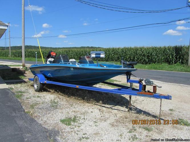 for sale 16 ft boat with 1994 atwood trailer for sale in peoria illinois classified. Black Bedroom Furniture Sets. Home Design Ideas