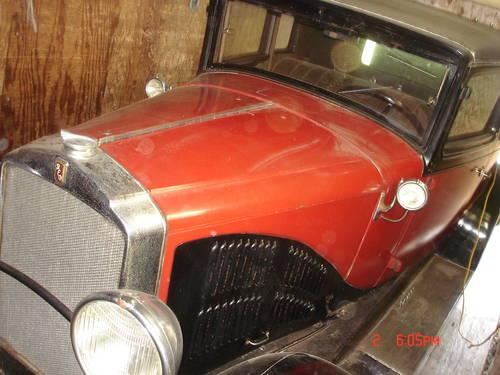 For Sale - 1929 Reo Flying Cloud Mate 2 Door Rumble Seat Coupe