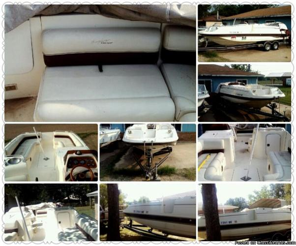 FOR SALE 1997 MONTEREY DECK BOAT