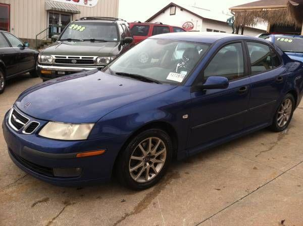 for sale 2003 saab 9 3 turbo 2 0l 4cyl 4door sedan fast. Black Bedroom Furniture Sets. Home Design Ideas