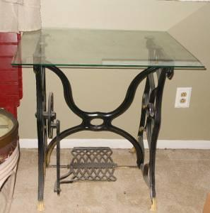 antique sewing machine table for sale