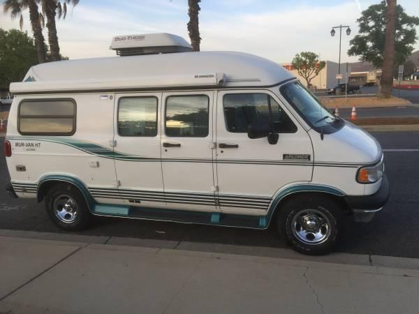 For Sale By Owner 1997 Dodge Xplorer Camper Van For Sale In Sun City California Classified