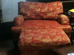 For Sale - Chair and a half w/ottoman - $300