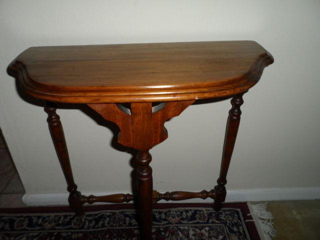 Unique Antique Small Mahogany Corner