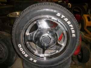 Ford 15 Rims and Tires 4 lug - $200 East Ridge