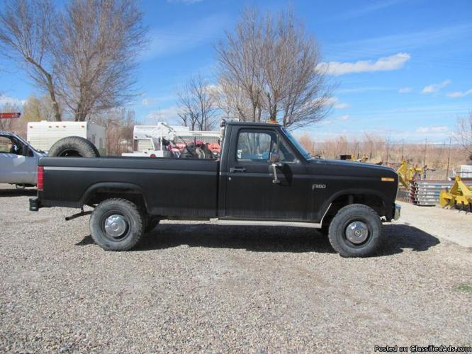 ford 1986 f250 for sale in worland wyoming classified. Black Bedroom Furniture Sets. Home Design Ideas