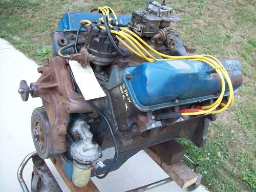 Ford 390 Engines & Parts.