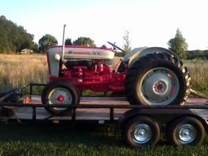 ford 801 tractor sherman trans - $5500 lapeer